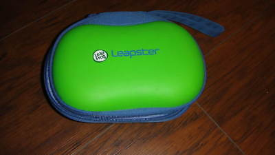LEAP FROG LEAPSTER CASE BLUE GREEN