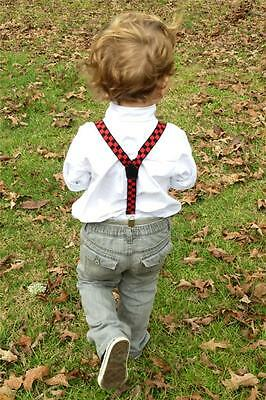 Infant/Toddler Adjustable Suspenders - A Variety of Colors/Styles To Choose