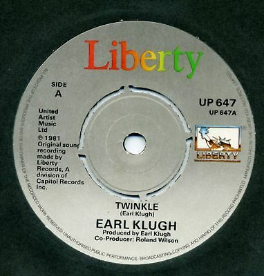 "Earl Klugh-Twinkle/Broadway Ramble UK 7"" Single EX Cond"