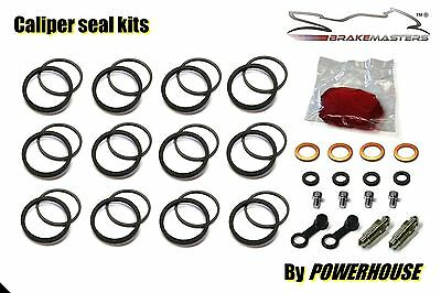 Kawasaki  ZX-6R ZX6 R G1 G2 1998 1999 Tokico front brake caliper seal repair kit