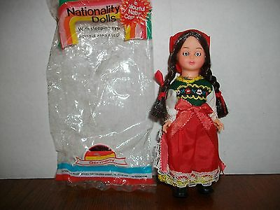 """VINTAGE NATIONALITY DOLLS """" GERMANY """" STILL IN PACKAGE"""