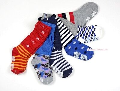 Lot 6 Pair Knee Length Sock FootBall Stocking For Pettiskirt Outfit Unisex 3-6Y