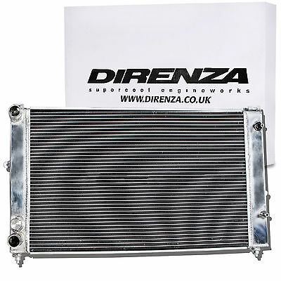 Direnza Alloy 40Mm Race Radiator Rad For Audi A4 S4 A6 S6 1.6 1.8 2.0 1.9 Tdi