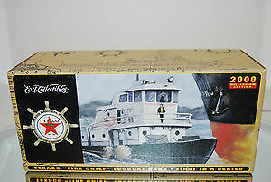 "2000 Texaco Millenium "" Fire Chief""  Tugboat Bank/ Ertl/case Fresh/never Opened"