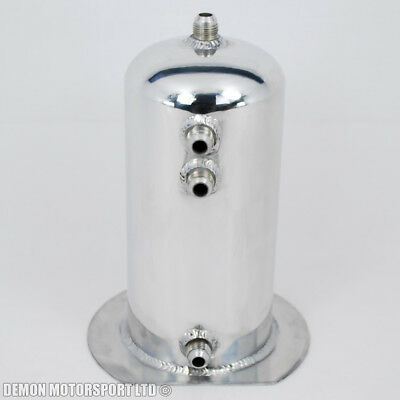 2.5 Ltr Polished Dome Alloy Fuel Surge Swirl Pot Tank An8 -8 Single Lightweight