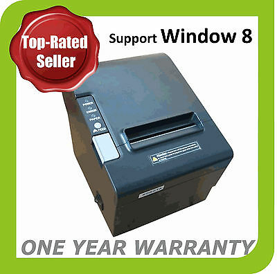 EO80 High Speed POS Thermal Receipt Printer 80mm Auto Cutter USB/Ethernet/Serial