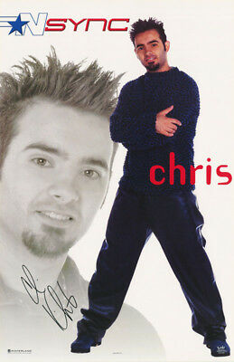 Poster - Music - N Sync - Chris   Free Ship #7563 Rp57 L