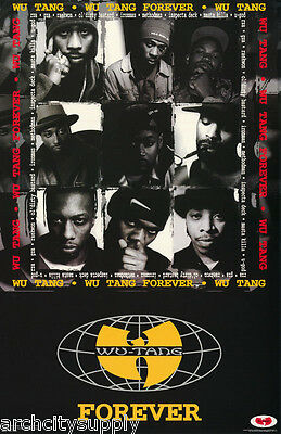 POSTER : MUSIC : WU-TANG FOREVER -   FREE SHIPPING !  #8023  LC22 D
