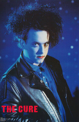 Poster : Music : The Cure - Robert Smith - Blue  - Free Ship !  #cup006   Lw23 N