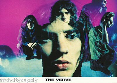 Poster : Music: The Verve - Montage - Free Shipping !     #pr3102      Lc13 R