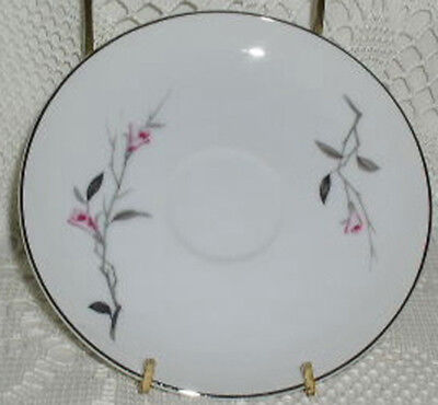 Cherry Blossom Fine China Japan Saucer Cup Plate Saucers Excellent Condition