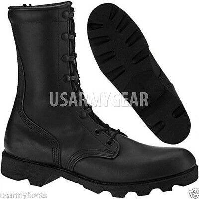 New McRae Made In US Israeli Combat Boots Black Military Army ...