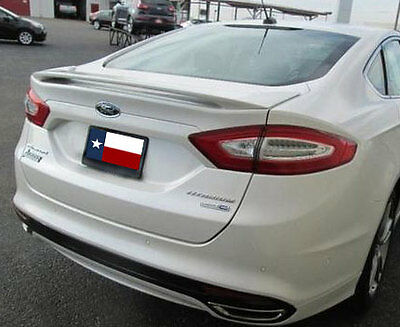 Fits: Ford Fusion 2013+  Rear Spoiler Factory Style 2 Post  Primed