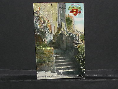Jersey - Old Steps Mount Orgueil