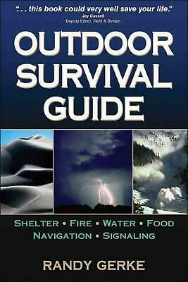 Outdoor Survival Guide by Randy Gerke (English) Paperback Book Free Shipping!