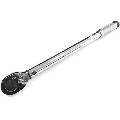 "Ratcheting Torque Wrench with 1/2"" Socket square drive full size Torque Wrench"