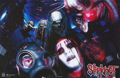 Poster - Music: Slipknot - Group -    Free Shipping !  #7593  Lp33 O