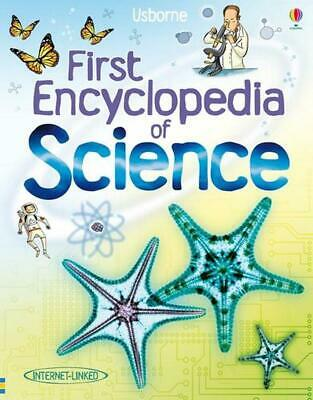 First Encyclopedia of Science by Jessica Greenwell (English) Hardcover Book Free