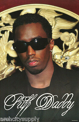 Poster : Music:rap:  Puff Daddy - Sunglasses - Free Shipping ! #254   Lc22 F