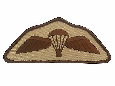 Parachute Regiment Airborne Desert Subdued Wings Para Wings Badge Army Military