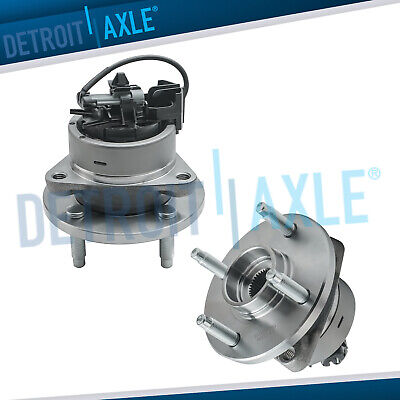 Pair of 2 NEW Front Wheel Hub and Bearing Assembly w/ ABS