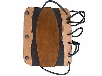 Shooting  Arm Guard made with fine Leather & Suede Archery Products.AG204.