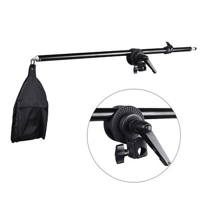 [AU] 75-140cm Studio Telescopic Boom Arm w/ Weight bag for Top Light Hairlight