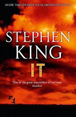 It by Stephen King (English) Paperback Book Free Shipping!