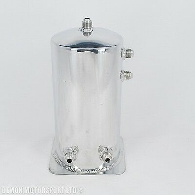 4 Litre Dome Alloy Fuel Swirl Pot Surge Tank An8 -8 8AN (Clearance) Drift Rally