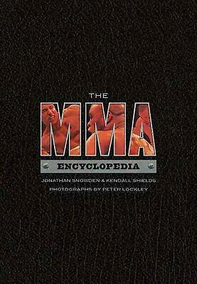 The MMA Encyclopedia by Jonathan Snowden Paperback Book (English)