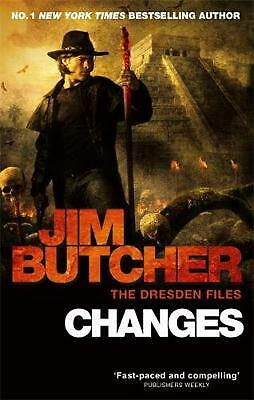 Changes: The Dresden Files, Book Twelve by Jim Butcher (English) Paperback Book