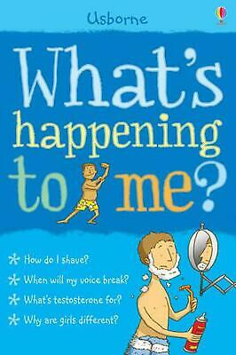 What's Happening to Me?: Boy by Alex Frith (English) Paperback Book Free Shippin