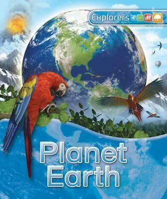 Explorers: Planet Earth by Daniel Gilpin (English) Hardcover Book Free Shipping!