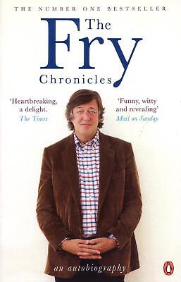 Fry Chronicles by Stephen Fry (English) Paperback Book Free Shipping!