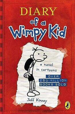 Diary of a Wimpy Kid (book 1) by Jeff Kinney (English) Paperback Book Free Shipp