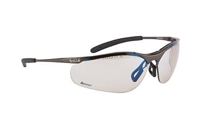 Bolle Contour Metal CONTMESP Safety Glasses - ESP Lens