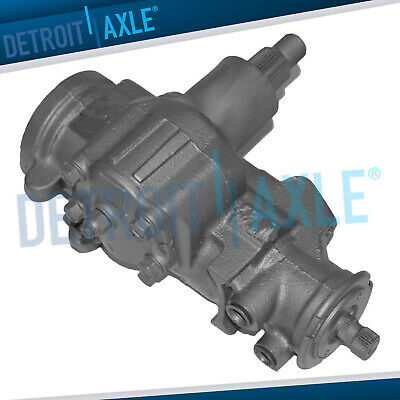 Complete Power Steering Gearbox Assembly for Chevy Blazer Tahoe GMC Jimmy Yukon