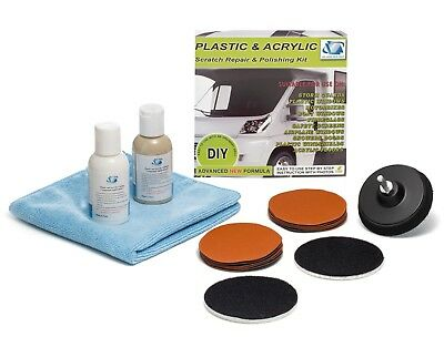 GP31007 Plastic and Acrylic Restoration Kit, for scratches, haziness,cloudiness