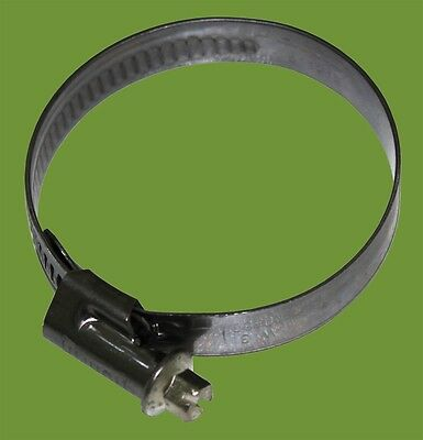 Norma All Stainless Steel Hose Clamp / Worm Drive 70-90Mm
