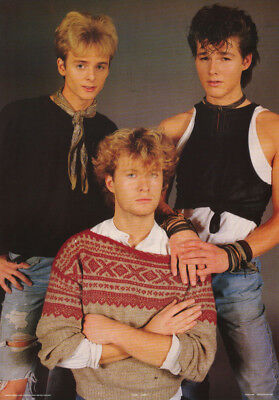 Poster : Music : A-Ha - All 3 Posed  - Free Shipping !         #aa211   Lw13 T