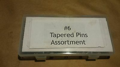 "Taper pin asortment  size #6   20  peices 2"" to 5""  5 each USA  Free Shipping!"