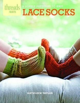 Lace Socks: 9 Lovely Patterns to Knit by Kathleen Taylor (English) Paperback Boo