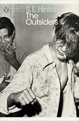 The Outsiders by S.E. Hinton Paperback Book Free Shipping!