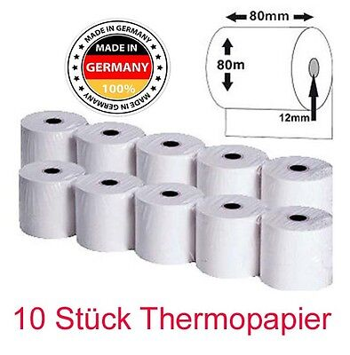 10 x KASSENROLLEN THERMOROLLE BOBROLLE THERMO NEU