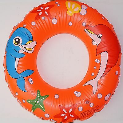 "CHILDS INFLATABLE SWIMMING POOL RING 24"" (60cm) ROUND"