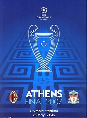 UEFA CHAMPIONS LEAGUE FINAL 2007: AC Milan v Liverpool