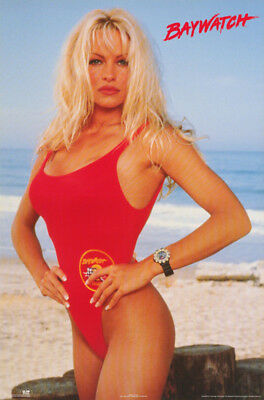 Poster :Tv : Baywatch - Pamela - Pam   Anderson  - Free Shipping !  #2854  Rw8 E