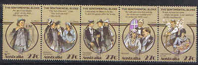 STAMPS from AUSTRALIA  1983  FOLKLORE  STRIP of 5  (MNH) lot 27-1