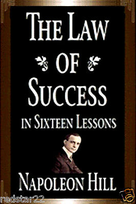 The Law of Success by Napoleon Hill Book on CD in .pdf