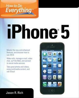 How to Do Everything: iPhone 5 by Dwight Spivey (English) Paperback Book Free Sh